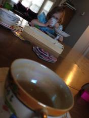 Tea party with the girls