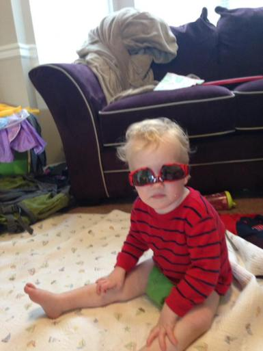 Robert in his shades.