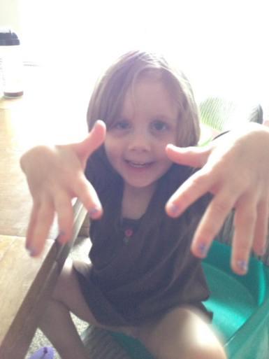 Paint nails!